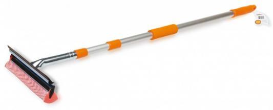 Щетка AIRLINE AB-G-01 для мытья стекол с телескопической ручкой, поролоном и водосгоном (130 см) все цены