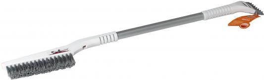 цена на Щётка AIRLINE АB-R-10R от снега и льда 88см плоская телескопическая рукоятка мягкая щетина