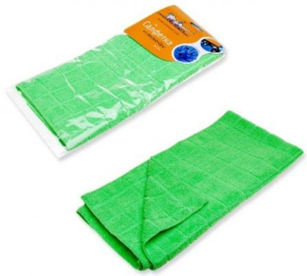 Салфетка AIRLINE AB-A-07  из микрофибры зеленая (50*70 см)