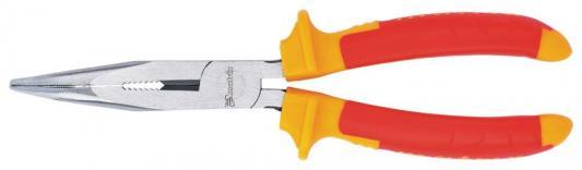 Утконосы MATRIX 17474 длинногубцы изогнутые insulated 200мм двухкомпонентные рукоятки изогнутые длинногубцы thorvik bnp0200 200 мм 52189