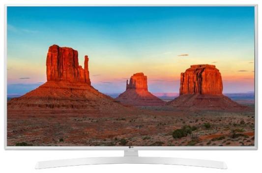 Телевизор LG 49UK6390PLG белый телевизор белый