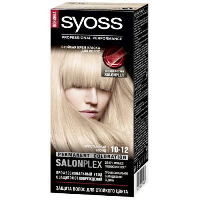 Syoss Color Краска для волос 10-12 Кристальный блонд 115 мл краска д волос фара 305 932275
