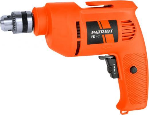 Дрель безударная Patriot FD 401 THE ONE 1275Вт патрон:быстрозажимной дрель безударная patriot fd 500
