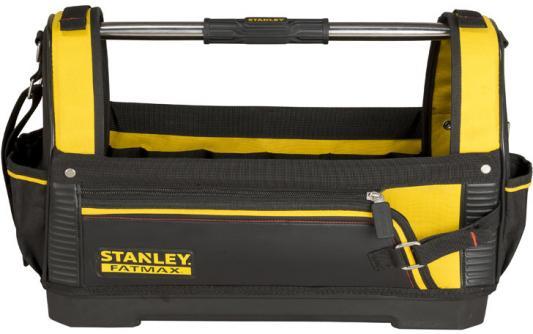 Сумка STANLEY 1-93-951 FATMAX OPEN TOTE открытая, с пласт. дном, нейлоновая (518160) 18 / 48 сумка для инструмента stanley fatmax open tote 193951 18