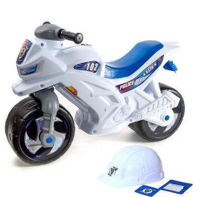 Каталка-беговел RT Racer RZ 1 Полиция бело-синий от 18 месяцев пластик rt rt беговел каталка самоделкин красный