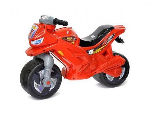 Каталка-мотоцикл RT Racer RZ 1 красный от 18 месяцев пластик каталка мотоцикл pilsan mini moto в подарочной коробке красный 06 809