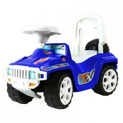 все цены на Каталка-машинка RT RACE MINI Formula 1 Полиция бело-синий от 10 месяцев пластик онлайн