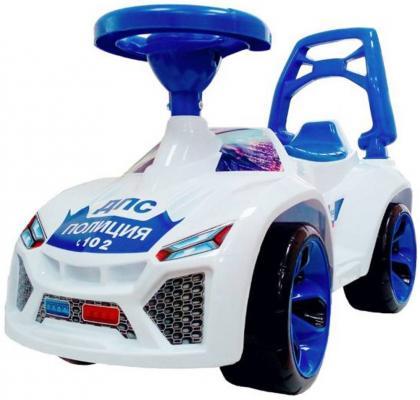 все цены на Каталка-машинка RT Ламбо - Полиция бело-синий от 10 месяцев пластик онлайн