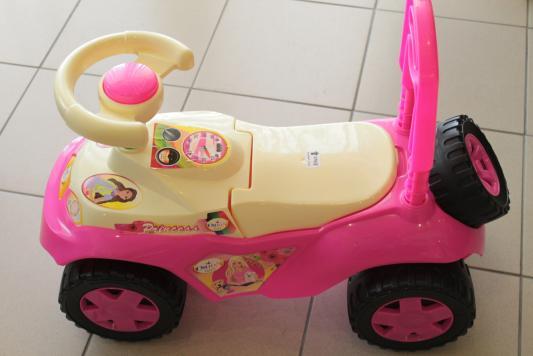 Каталка-машинка RT Ориоша розовый от 10 месяцев пластик
