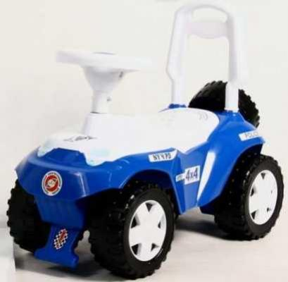 Каталка-машинка RT Ориоша синий от 10 месяцев пластик все цены