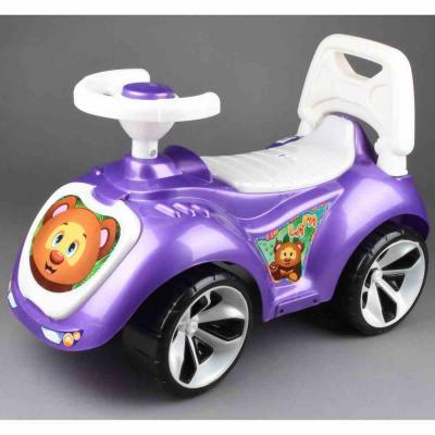 Каталка-машинка RT Мишка (LAPA) фиолетовый от 18 месяцев пластик