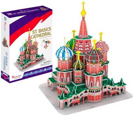 Игрушка Собор Василия Блаженного (Россия) cubic fun собор василия блаженного c707h
