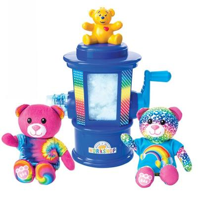 Набор для рукоделия Spin Master Build-a-Bear от 4 лет 8 шт 4 in 1 waterproof electric spin show bathing brush for facial
