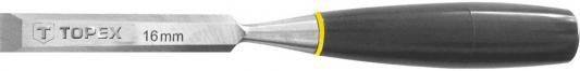 Стамеска TOPEX 09A116 16мм пластмассовая рукоятка