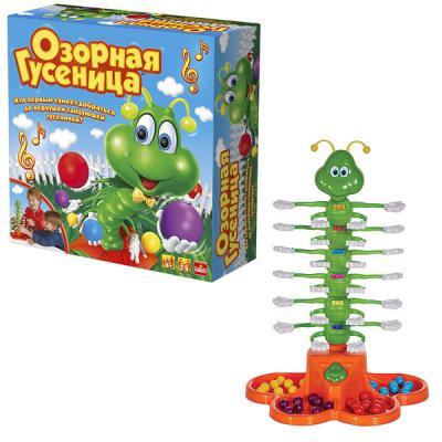 Интерактивная игрушка Goliath Озорная гусеница от 4 лет goliath 30980 006 настольная интерактивная игра озорная гусеница