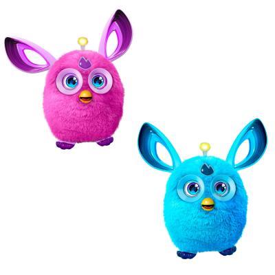 ФЕРБИ КОННЕКТ ТЕМНЫЕ ЦВЕТА (голубой и розовый) hasbro hasbro интерактивная игрушка furby ферби коннект яркие цвета в ассортименте