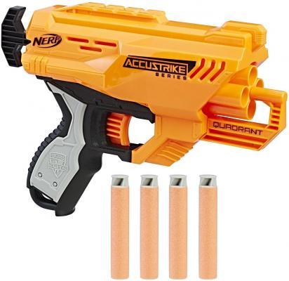 Купить Бластер Hasbro НЁРФ: Элит желтый E0012, 22х23х7 см, для мальчика, Игрушечное оружие
