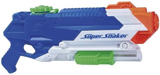 Купить Бластер Hasbro НЁРФ СОКЕР Флудинатор синий 5010993324200, 42.7x22.1x1.5 см, унисекс, Игрушечное оружие