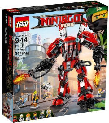 Конструктор LEGO Ninjago: Огненный робот Кая 944 элемента 70615 конструктор lego ninjago 70589 горный внедорожник