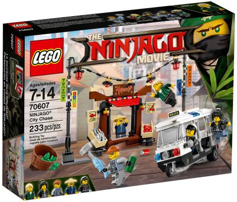 Конструктор LEGO Ninjago: Ограбление киоска в Ниндзяго-Сити 233 элемента 70607