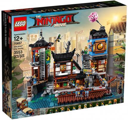 Конструктор LEGO Ninjago: Порт Ниндзяго Сити 3553 элементов 70657 конструктор lego ninjago 70589 горный внедорожник