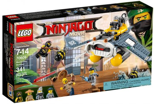 Конструктор LEGO Ninjago Movie: Бомбардировщик Морской дьявол 341 элемент 70609 конструктор lego ninjago 70589 горный внедорожник