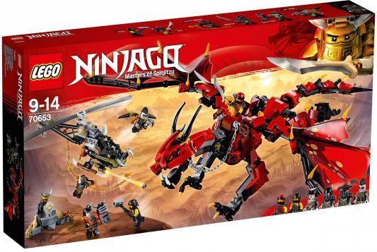 Конструктор LEGO Ninjago: Первый страж 882 элемента 70653 lego ninjago первый страж 70653