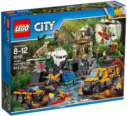 Конструктор LEGO City: База исследователей джунглей 813 элементов 60161 lego lego city 60124 база исследователей вулканов