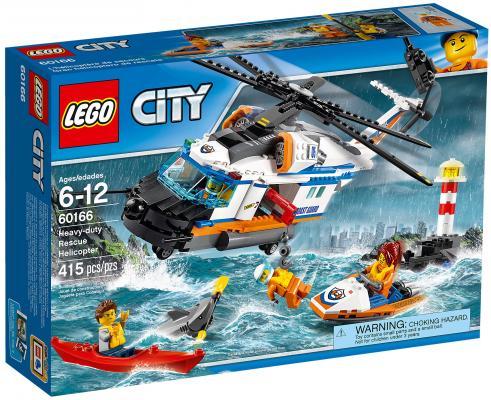 Конструктор LEGO City: Сверхмощный спасательный вертолёт 415 элементов 60166