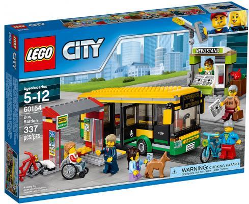 Конструктор LEGO City: Автобусная остановка 337 элементов 60154