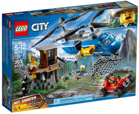 Конструктор LEGO City: Погоня в горах 303 элемента 60173