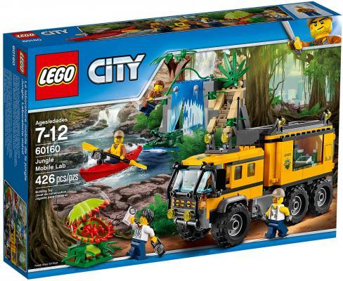 Конструктор LEGO City: Передвижная лаборатория в джунглях 426 элементов 60160