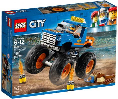 Конструктор LEGO City: Монстр-трак 192 элемента 60180 lego city great vehicles 60180 монстр трак конструктор