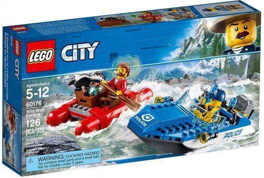 Конструктор LEGO City: Погоня по горной реке 126 элементов 60176 конструктор lego 60172 погоня по грунтовой дороге 297 элементов