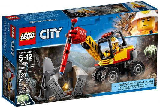 Конструктор LEGO City: Трактор для горных работ 127 элементов 60185 цена