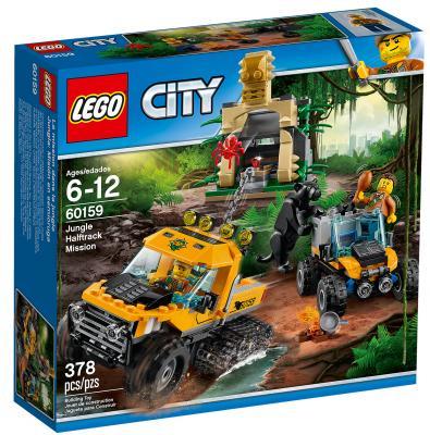Конструктор LEGO City: Миссия - Исследование джунглей 378 элементов 60159