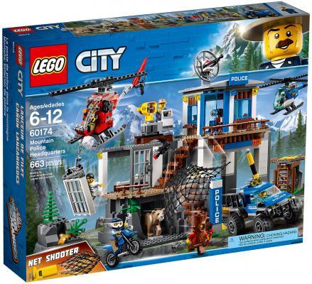 Купить Конструктор LEGO City: Полицейский участок в горах 663 элемента 60174, Конструкторы