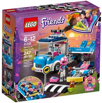 Конструктор LEGO Friends: Грузовик техобслуживания 247 элементов 41348 lego конструктор lego friends 41348 грузовик техобслуживания