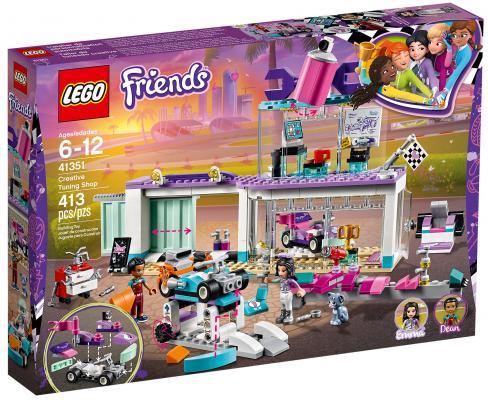 Конструктор LEGO Friends: Мастерская по тюнингу автомобилей 413 элементов 41351