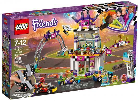 Конструктор LEGO Friends: Большая гонка 648 элементов 41352 конструктор lego 10813 большая стройплощадка