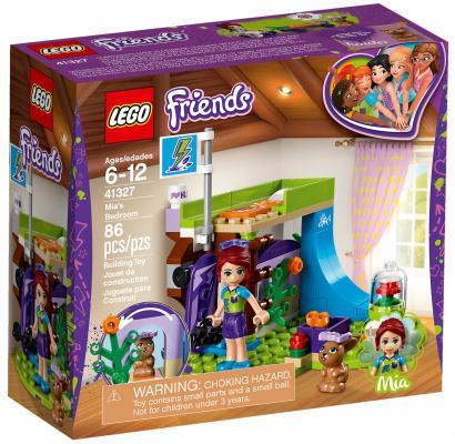 Конструктор LEGO Friends: Комната Мии 86 элементов 41327