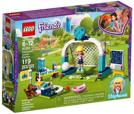 Конструктор LEGO Friends: Футбольная тренировка Стефани 119 элементов 41330