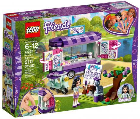 Конструктор LEGO Friends: Передвижная творческая мастерская Эммы 210 элементов 41332 цена