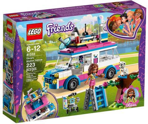 Купить Конструктор LEGO Friends: Передвижная научная лаборатория Оливии 223 элемента 41333, Конструкторы
