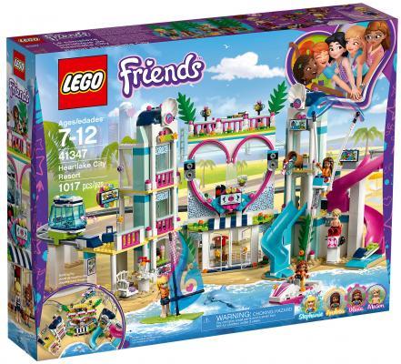 Конструктор LEGO Friends: Курорт Хартлейк-Сити 1017 элементов 41347 цена