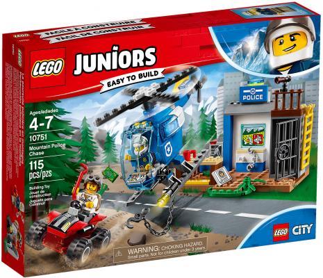 Конструктор LEGO Juniors: Погоня горной полиции 115 элементов 10751