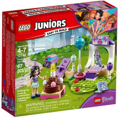 Конструктор LEGO Juniors: Вечеринка Эммы для питомцев 67 элементов 10748 конструктор lego unikitty 41453 вечеринка