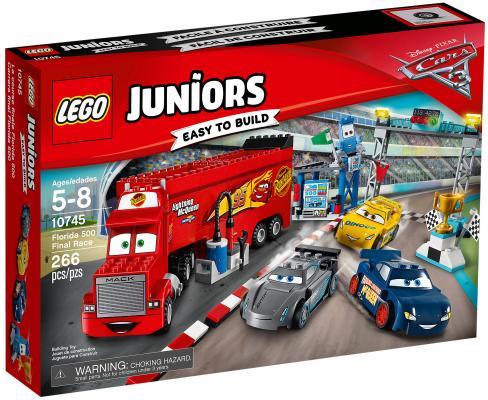 Конструктор LEGO Juniors: Финальная гонка Флорида 500 266 элементов 10745