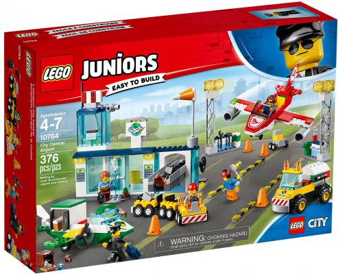 Конструктор LEGO Juniors: Городской аэропорт 376 элементов цена