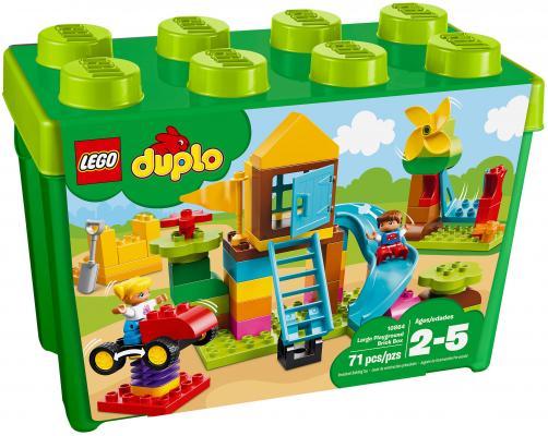 Конструктор LEGO Duplo: Большая игровая площадка 71 элемент 10864 конструктор lego 10813 большая стройплощадка